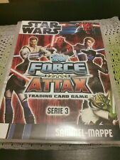 Topps Star Wars Force Attax Serie 3 komplett mit Sammelmappe keine Limitierten