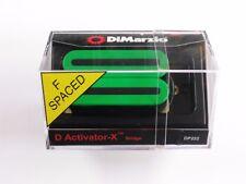 DiMarzio F-spaced D Activator X Bridge Humbucker Green DP 222