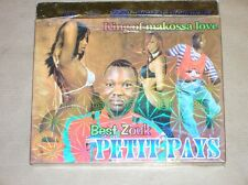 RARE BOITIER 2 CD / PETIT PAYS, KING OF MAKOSSA LOVE / BEST ZOUK / TRES BON ETAT