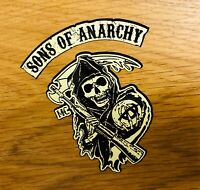 SONS OF ANARCHY XXL Aufkleber StickerBiker MC Bobber SOA Skull 1% Chopper Big18