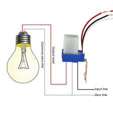 Control Photocell Automatic Lamp Home Garden Switch Sensor Auto Street Light
