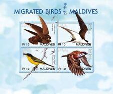 Maldives - Birds Stamp - Sheet of 4 MNH