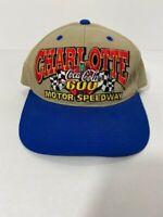 NASCAR Charlotte Motor Speedway Coca Cola 600 Hat VG Snapback