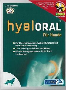 ORIGINAL Hyaloral von vetFit 120 Tabl.  schnelle Lieferung