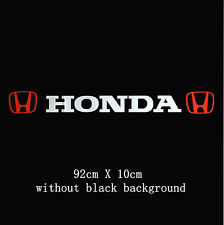 Amazing  Windscreen Windshield Car Sticker Decal For Honda (no background)