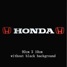Increíble Parabrisas Parabrisas Auto Adhesivo Calcomanía Para Honda ( ningún fondo )