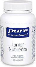 Pure Encapsulations Junior Nutrients 120 caps - Children Muitivitamins