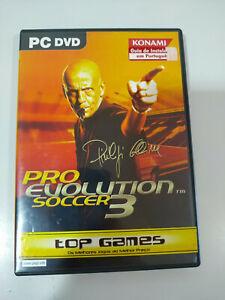 Pro Evolution Soccer 3 Konami - Set para PC Dvd-rom - 3T