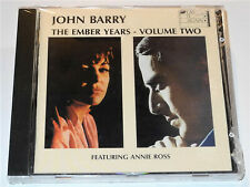 John Barry THE EMBER YEARS VOLUME TWO 2 Annie Ross Richard Burton 007 CD Set New