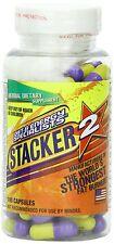 Stacker 2 Ephedra Free Weight Loss & Energy Herbal Supplement 6 Bottles X 20 ct