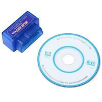 ELM327 Car Auto Wireless Bluetooth V2.1 ODB2 ODB-II Diagnostic Scanner Best B5G2