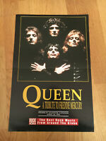 QUEEN FREDDY MERCURY POSTER (beidseitig) aus ROCK WORLD aus 1990s in 44x29,5cm