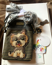 Charming Chala Yorkie Yorkshire Puppy Dog Cell Phone Purse Mini Crossbody Bag