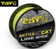 (0,26€/1m) Black Cat Wallerschnur Battle Cat Line Vertical 300m 0,50mm 60kg gelb