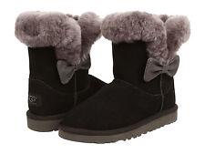 UGG Australia Kid's Kourtney Boots- Select Sizes Black Girls 5 1010