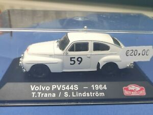 COCHE 1/43, ALTAYA, MODELO VOLVO PV544S- 1964, RALLYE MONTECARLO.