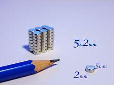 300  MAGNETI NEODIMIO 5x2mm- sped.  CORRIERE MAGNETE  CERAMICA FIMO CERNIT