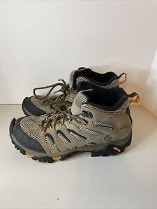Merrell - Moab Ventilator Mid Walnut Brown Hiking Boots Men's Sz10  J86593