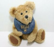 Boyds Collection Plush Bear - Quincy B Bibbly