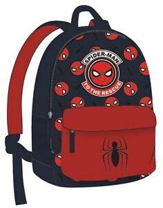 Kids Backpack Marvel Spiderman Boys Nursery Nanny Bag 28cm
