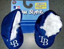 MLB Tampa Bay Rays Infant/Baby/Newborn Slippers/Booties/Shoes 3-6 Month NEW