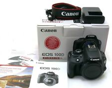 Canon EOS 100D / Rebel SL1 digital camera body boxed MINT
