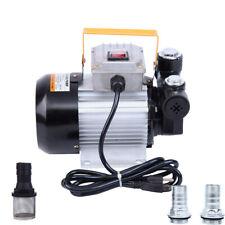 Electric Oil Pump Transfer Fuel Diesel Self Priming Pump 110V Ac 16Gpm 2800r/m