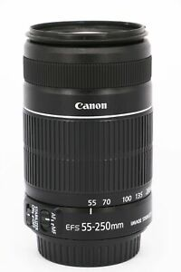 CANON EF-S 55-250mm f/4-5.6 IS II  Professionally tested