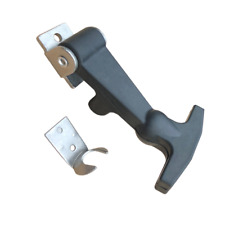 Small EPDM Flexible Rubber Draw T Handle Latch with Stainless Steel Hardware