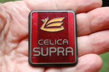 Vintage Enamel Car Emblem Badge Toyota Celica SUPRA  Nice!