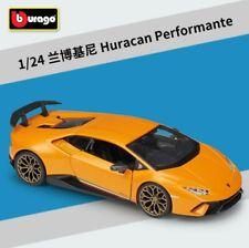 Bburago 1:24 Lamborghini Huracan Performante Metal Diecast Model Roadster Car