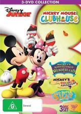 Mickey Mouse Clubhouse - Adventure Collection (DVD, 2013, 3-Disc Set)