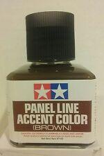 Tamiya 87132, Brown panel line accent color.