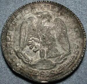 """1915 ZAPATA """"Campo Morado"""" GUERRERO Revolutionary MEXICO """"SILVER & GOLD"""" 2 Pesos"""