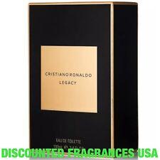 CRISTIANO RONALDO LEGACY EAU DE TOILETTE 3.4 FL.OZ/100 mL /