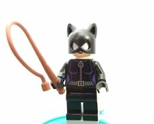 LEGO Catwoman Minifigure w/ whip Cat Woman Batman ii REAL authentic Super Heroes