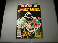 What If #38 (Marvel, 1983) Daredevil and Captain America