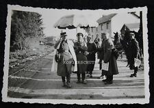 Altes Foto deutsche Soldaten verkleidet als Polizist Gendarmerie / Frankreich