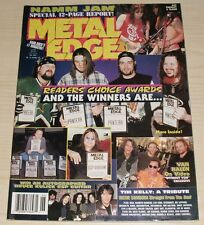 METAL EDGE MAGAZINE JUNE 1998 OZZY METALLICA PANTERA VAN HALEN WARRANT ACE SLASH