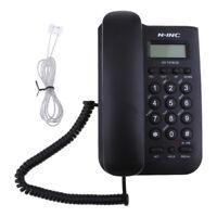 GSM Tischtelefon Wandhalterung Anrufer-ID-Telefon schnurgebundenes Telefon