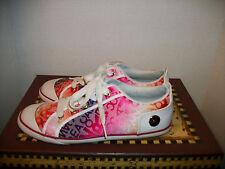 Womens Rocawear Corina Tennis Shoe Sneaker Pink Multi-Color Size 9M