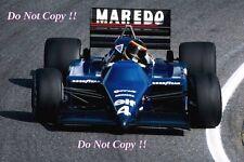 Stefan Bellof Tyrell 014 Dutch Grand Prix 1985 Photograph