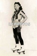 4x6  ROLLER DERBY PHOTO FROM EARLY 50'S  JEAN PORTER   CD038   games