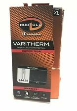 Duofold by Champion Varitherm Performance 2-Layer Men's Thermal Pants XL New
