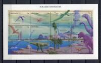 36299) Grenada 1994 MNH Jurassic Dinosaurs S/S