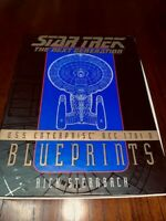 STAR TREK The Next Generation USS Enterprise 13 Blueprints Paramount R Sternbach
