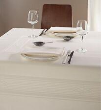 Tafeltuch FUGA Curt Bauer - Damast-Tischtuch Tischdecke, 130x225 cm, porzellan