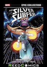 SILVER SURFER EPIC COLLECTION THANOS QUEST GRAPHIC NOVEL (480 Pages) Paperback