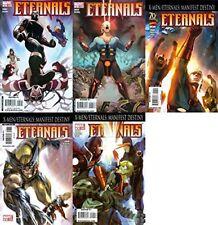 Eternals #5-9 Volume 4 (2008-2009) Marvel Comics - 5 Comics