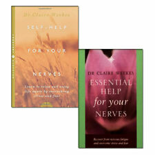 Dr. Claire Weekes 2 Books Collection Self-Help,Essential Help for Your Nerves PB